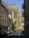 Blick auf den Seitenflügel der Kathedrale