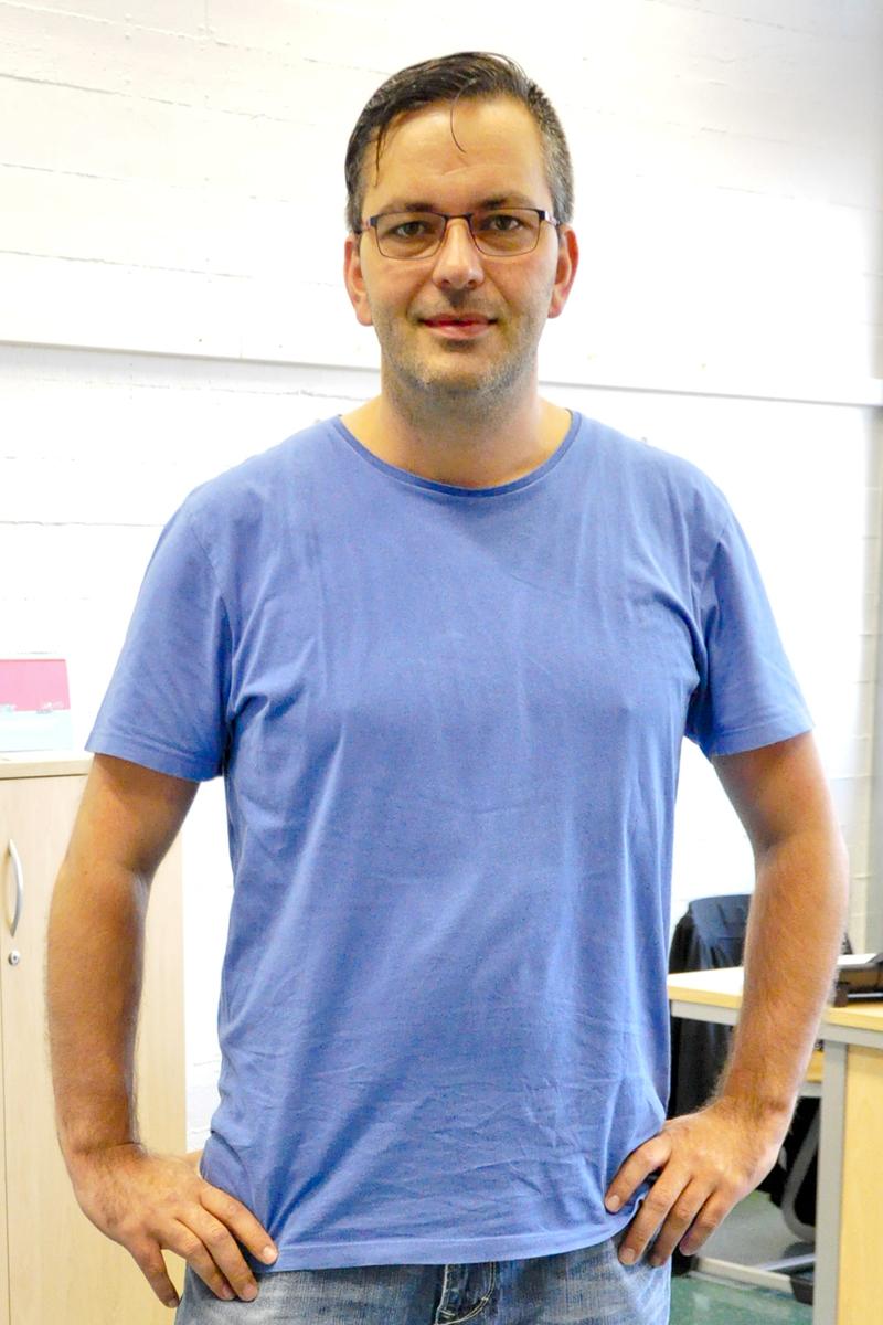 Schulsozialarbeiter Thomas Feldmann