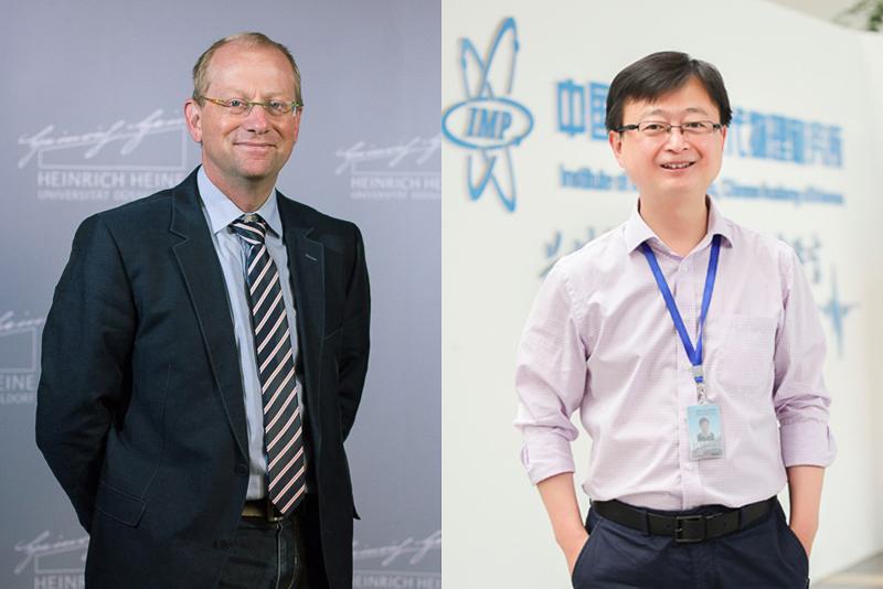 Prof. Dr. Büscher und Dr. Yuan
