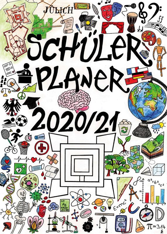 Cover des Schülerplaners