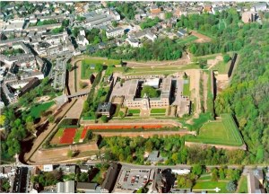 Luftbildaufnahme der Zitadelle